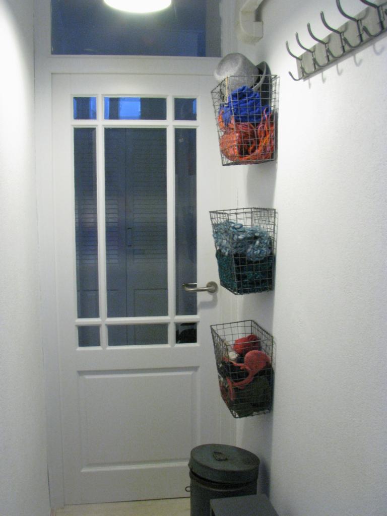 opbergmuur - interieur idee