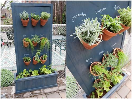 Muur Ideeen Tuin : DIY Vertical Garden