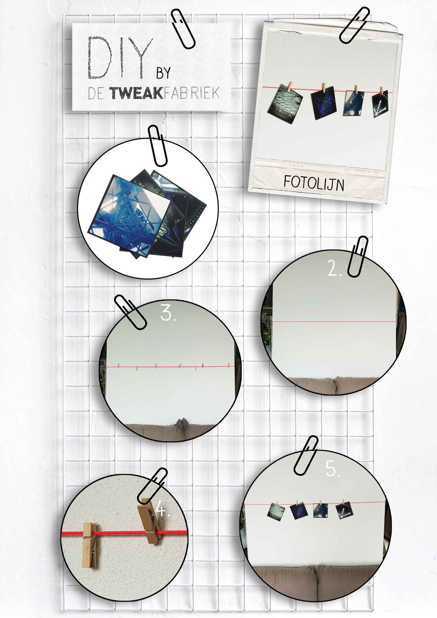 DIY tutorial fotolijn