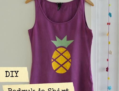 DIY T-shirt: Bedruk je eigen T-Shirt met textielverf